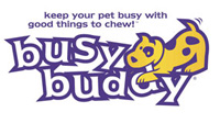 BUSY BUDDY Busy Buddy Bristle Bone PURPLE SMALL