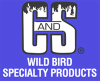 C AND S PRODUCTS Outdoor Bluebird Feeder
