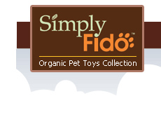 SIMPLY FIDO LLC Brooklyn Desgin Wally Bear Plush Squeaker Dog Toy
