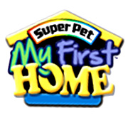 BLACK WHITE My First Home Small Pet Cages by Super Pet - GregRobert