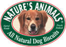NATURES ANIMALS Organic Carrot Dog Biscuit 4 inch (Case of 48)