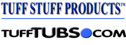 Tuff Stuff Tubs, Feed pans and Tanks  - GregRobert