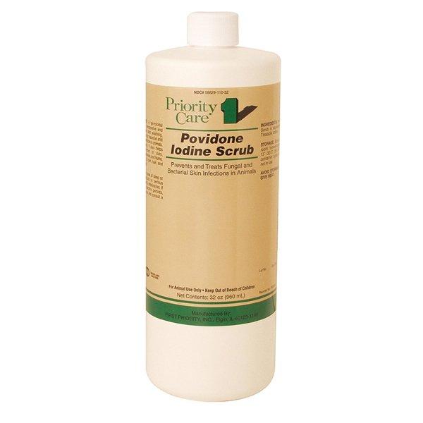 Povidone Iodine Scrub 75% - 32 oz. Best Price