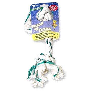 Fresh N Floss Rope Dog Bones / Size Medium