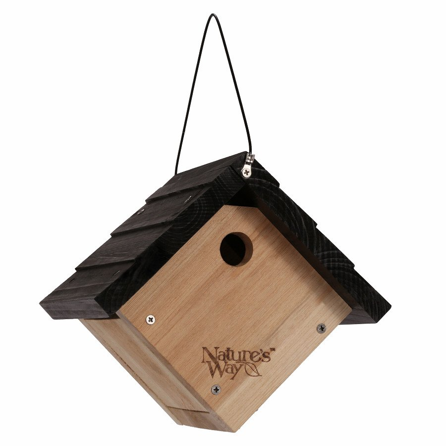 Cedar Wren Traditional Hanging Bird House Best Price