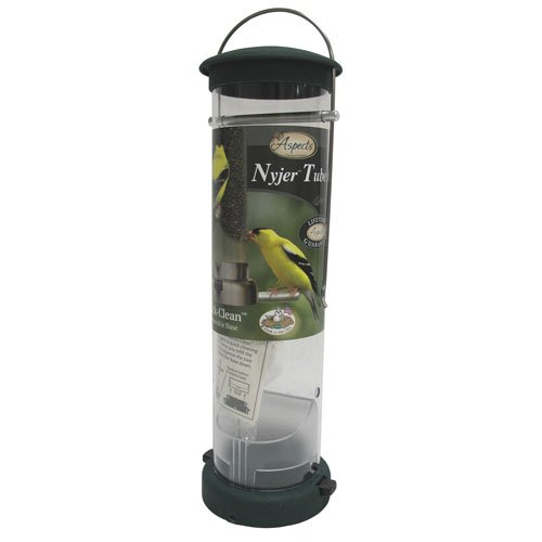 Quick-clean Nyjer Tube Feeder - Green / Large Best Price