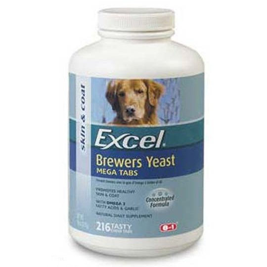 Pet Brewers Yeast Megatabs 216 Ct.