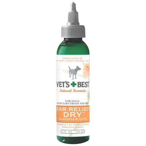 Vets Best Dog Ear Relief Dry 4 Oz
