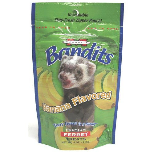 Bandits Ferret Treat - Banana / 4 oz. Best Price