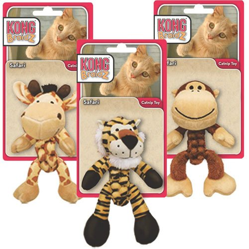Safari Cat Braidz Cat Toy