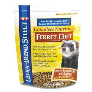 Complete Nutrition Ferret Diet / Size (2 lbs.) Best Price