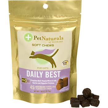 Daily Best Vitamin For Cats - 45 Soft Chews Best Price