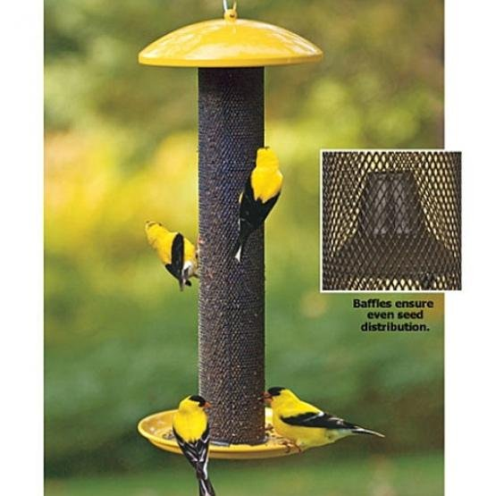 No/No Straight Sided Finch Tube Bird Feeder - 17.5 in. Best Price