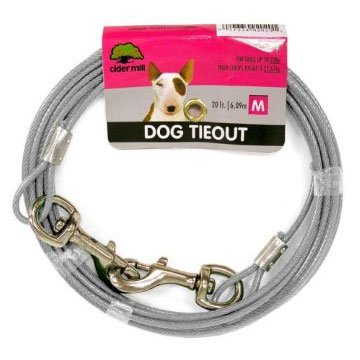 Cider Mill Dog Tie-out / Size (20 ft / 920 lb) Best Price