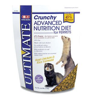 Ultimate Advance Nutrition Crunchy Diet for Ferrets - 4.4 lbs. Best Price