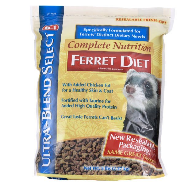 Complete Nutrition Ferret Diet / Size (5 lbs.) Best Price