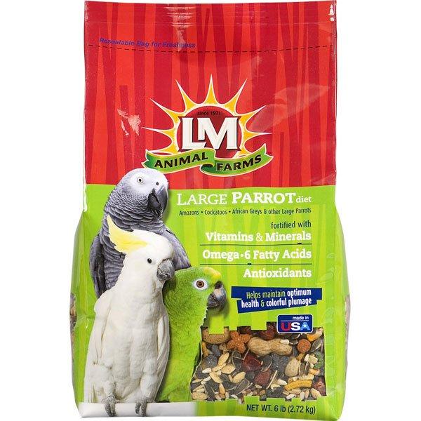 Large Parrot Diet 6 Lbs