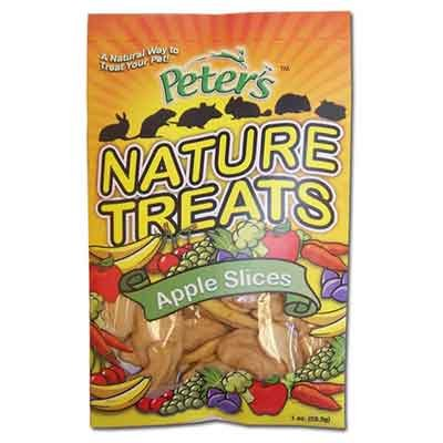 Peters Nature Treats Apple Slices Small Animal Treats - 1 oz. Best Price