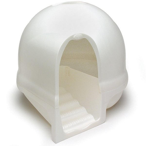 Booda Dome Clean Step Litter Box / Color (Pearl (off-white)) Best Price