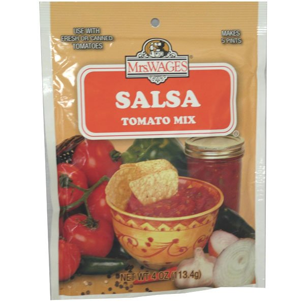 Salsa Tomato Mix 4 oz. Best Price