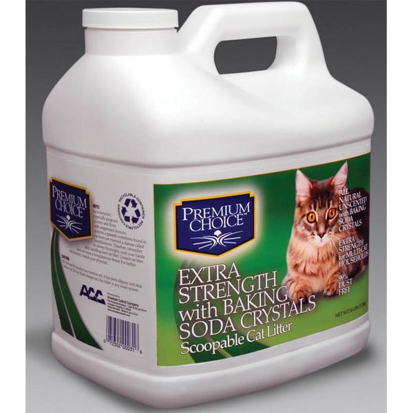 Premium Choice Scoopable Cat Litter