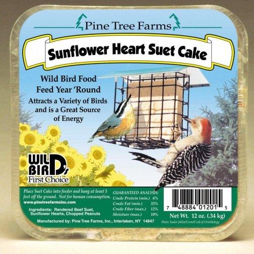 Sunflower Heart Suet Cake 12 oz. Best Price