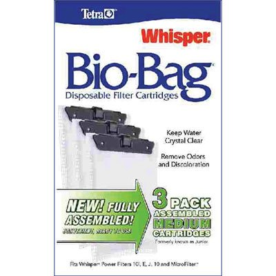 Whisper Bio-Bag Cartridges / / (Medium/3pk/Assembled) Best Price