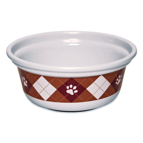 Designer Argyle Paws Bowl - 3 cup Best Price