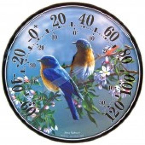 Bluebird Decorative Thermometer - 12.5 in. Best Price