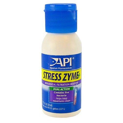 Stress Zyme Aquarium Water Conditioner / Size 1 Oz.