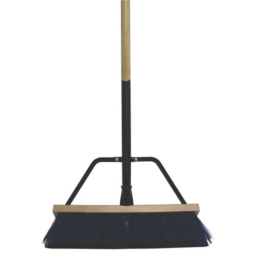 Complete Heavy Duty Bristle Broom - 18 in. Width Best Price