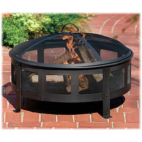Round Bravo Backyard Fire Pit Best Price