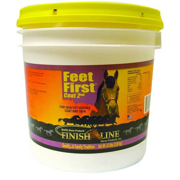 Feet First Hoof N Coat / Size (4.5 lbs)