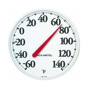 AcuRite Black and White Basic Thermometer 12.5 in. Best Price