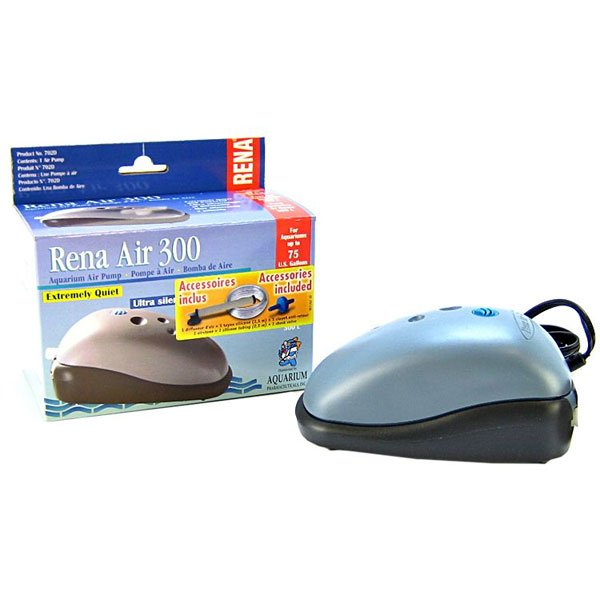 Rena Aquarium Air 300 Pump 75 Gallon