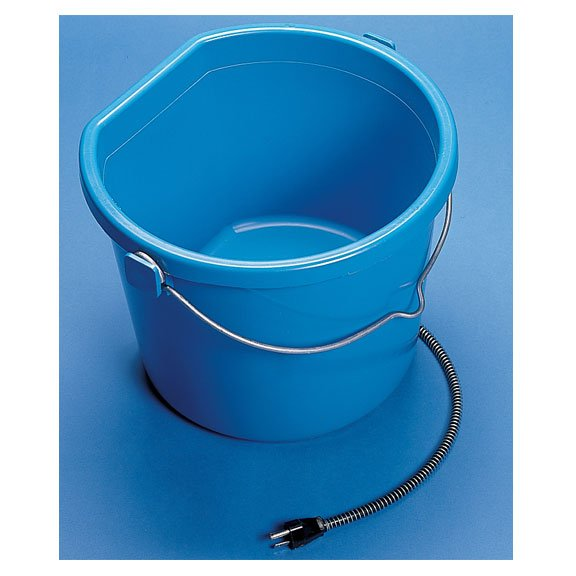 Heated Flatback Bucket 20 Qt 5 Gallon