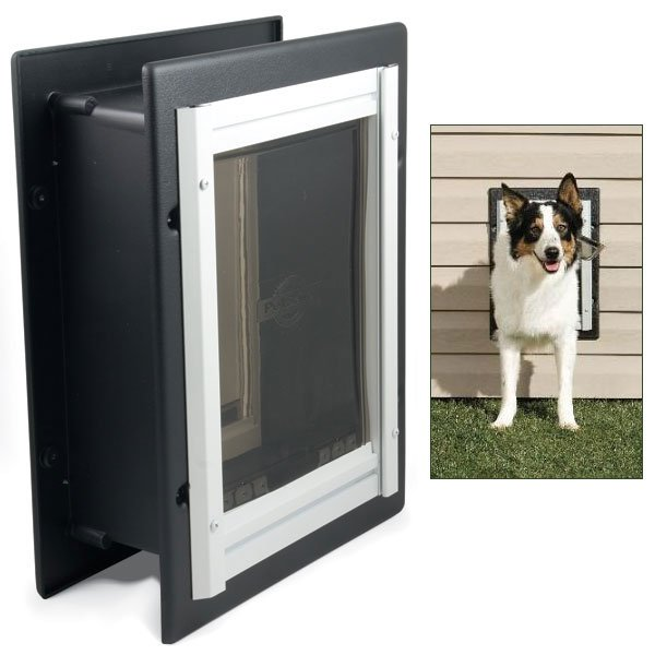 Medium Wall Entry Aluminum Pet Door (PetSafe) Best Price