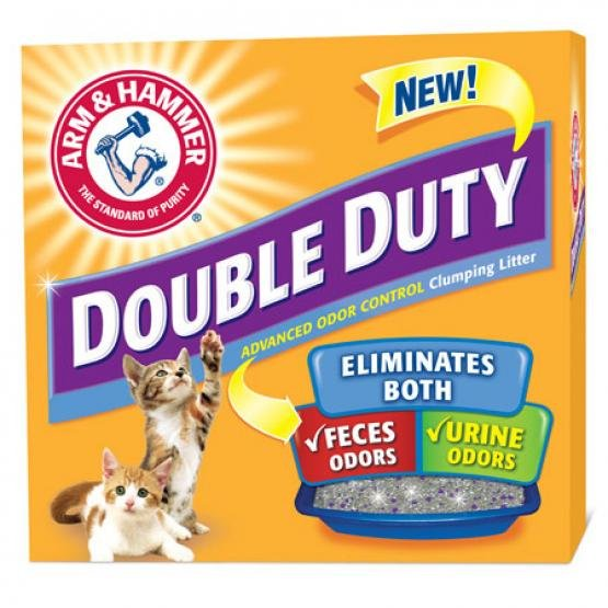 Arm and Hammer Double Duty Cat Clumping Litter 28 lbs Best Price