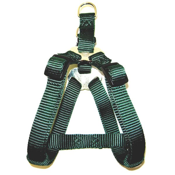 Adjustable Step-In Dog Harness / Size (Green 10-16 in.) Best Price