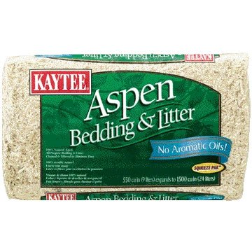 Kaytee Aspen Small Pet Bedding And Litter / Size 1500 Cubic In.