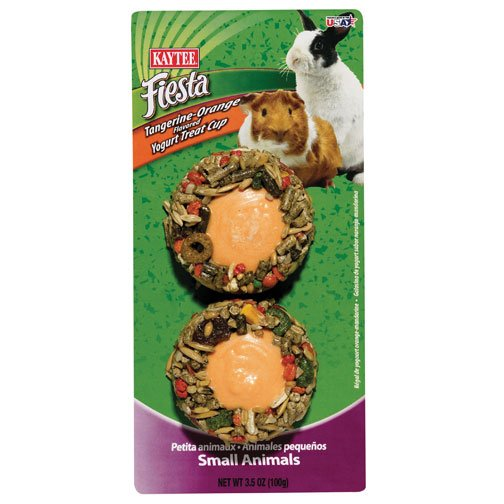 Fiesta Orange Yogurt Cup for Small Pets - 3.8 oz. Best Price
