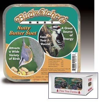 Nutty Butter Suet for Wild Birds  (Case of 12) Best Price