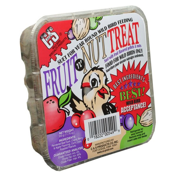 Fruit and Nut Treat Suet Cake - 11.75 oz. Best Price