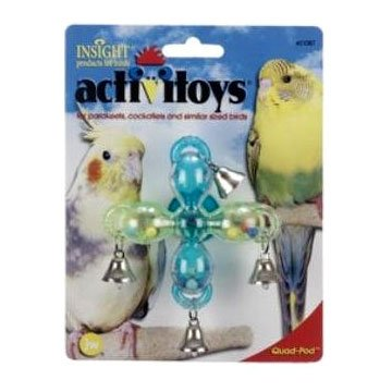 Activitoy Quad-Pod Bird Toy Best Price
