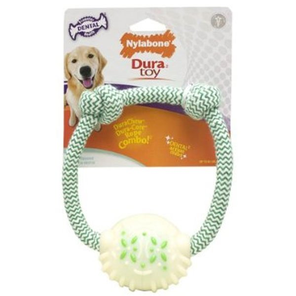 Dental Rope Ring Duratoy Dog Toy