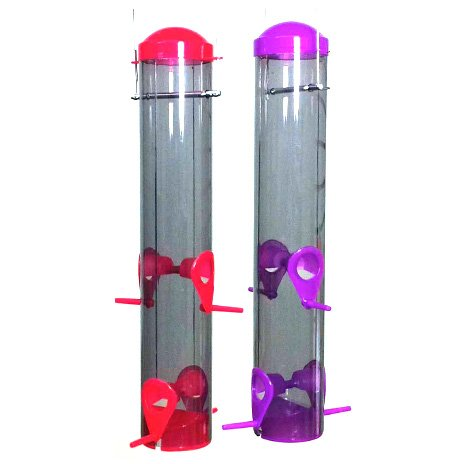 Plastic Tube BirdFeeder - 16.25 in. Best Price