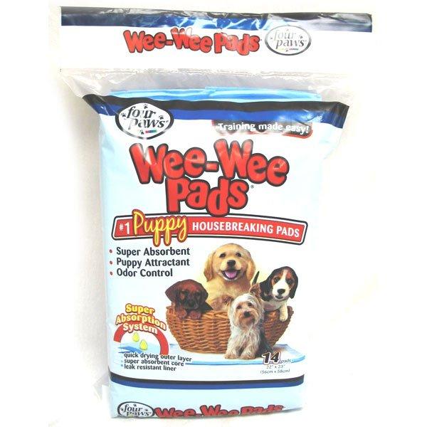 Wee Wee Pads Puppy Housebreaking Pads / Size Orig./14pk