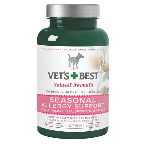 Seasonal Allergy Relief For Dogs 60 Tablets