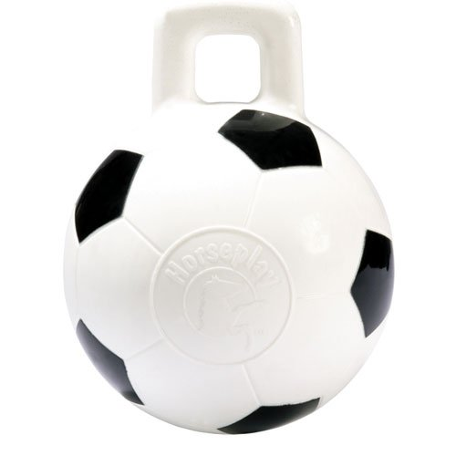 Horse Ball Toy  / Size (10 in White Soccer) Best Price