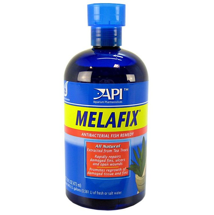 Melafix Antibacterial Fish Remedy / Size 16 Ounces